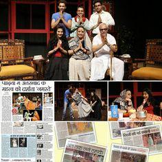 Namaste play , Designed sets & Lights