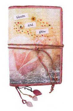 handmade journal.  love