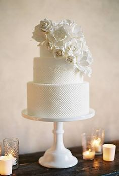 The 50 Most Beautiful Wedding Cakes : Brides.com