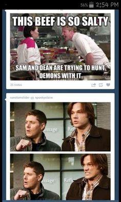 Image result for supernatural funny