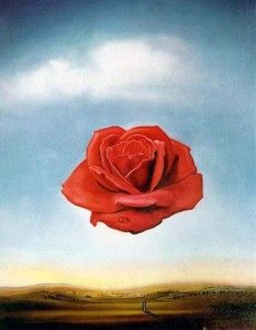 Сальвадор Дали — Медитативная роза