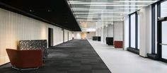 Talk Lounge in Quebec. Design by Lemaymichaud Architecture Design.