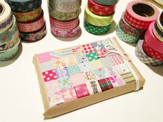 Little Hannah: Packagings originales: 'Patchwork' de washi tape