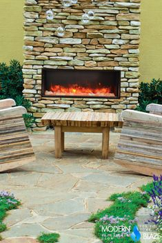 43 Best Unique Outdoor Fireplaces Images