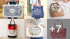 CURSO DE COMO CONFECCIONAR TOALLAS BONITAS PARA SU COCINA GRATIS PARA PRINCIPIANTES🖐🖐🖐 Reusable Tote Bags, Lunch Box, Tin Can Crafts, Dapper Clothing, Canvas Fabric, Lace Fabric, Fabric Purses, Embroidered Cushions, Accent Pillows