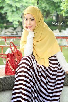 Fitri Aulia, an Indonesian fashion designer.