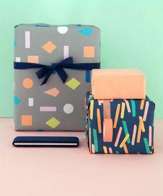 Gift Wrap Bundle Geo Shapes