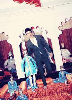 Simon Nessman for Bergdorf Goodman SS 2013 via http://dailymalemodels.com