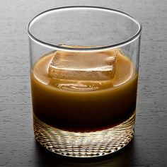 White Russian.  2 oz Vodka, 1 oz Kahlúa, Heavy cream. Add the vodka and Kahlúa to an Old Fashioned glass filled with ice. Top with a large splash of heavy cream and stir.