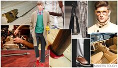 Top Trend Themes, Men's Accessories Market, S/S 2015, Makers Touch