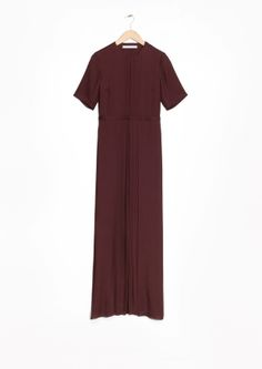& Other Stories | Maxi Crepe Dress@  str. 40