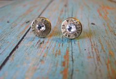 Hey, I found this really awesome Etsy listing at https://www.etsy.com/listing/172957027/40-cal-crystal-bullet-earrings