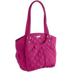 a67bbca041 Vera Bradley Glenna Magenta Shoulder Bag Purse Vera Bradley