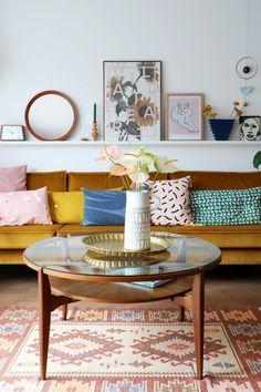 Binnenkijken bij blogger Marij Hessel - KARWEI - huiskamer - woonkamer - livingroom Fotografie: Marij Hessel