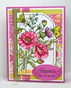 Flourishes June Picking Wildflowers