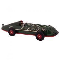 Retro collectable spiral race car
