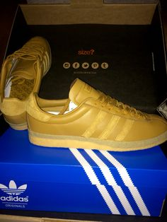 Gold Adidas Topanga