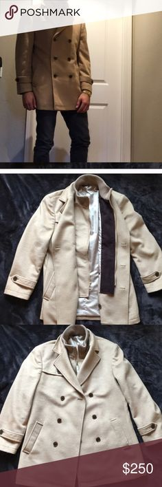 a3536cb43d4f1 Polo Ralph Lauren peacoat Ralph Lauren peacoat used for a photo shoot worn  once retails at size large Ralph Lauren Jackets   Coats Pea Coats