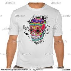 Artistic Suagr Skull Day of the Dead Illustration
