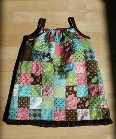 crazy mom quilts: patchwork dress