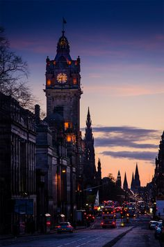 Spires of Edinburgh, Scotland. I think this deserves a place on r/evilbuildings! Places To Travel, Places To See, Wonderful Places, Beautiful Places, Places Around The World, Around The Worlds, Cities, England And Scotland, Scotland Uk
