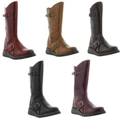 3fb6d4f95c6 Fly London Mes Mid Calf Boot in red | dpbee Portuguese in 2019 | Fly ...