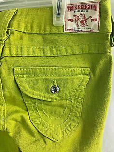 #womensjeans #ebay #ebayfashion #qualityonbudget Women's Jeans, Jeans Size, Flare Leg Jeans, True Religion, Khaki Pants, Legs, Best Deals, Ebay, Fashion