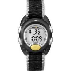 Timex Iron Kids Digital - Black/Silver (bestseller)