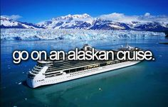 Alaskan cruise.,. plans got put on hold with some special events that have priority... the birth of my first grandchild and my daughter's wedding. <3 <3