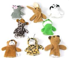 Animal Finger Puppet/Party Bag Filler