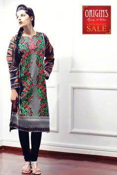 Origins Ready to Wear Stitched Kurta Dresses 2014