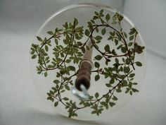 Spinatude - Resin Drop Spindle Thyme Wreaths