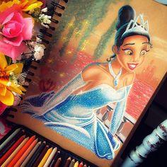 Tiana And Naveen, Dream Drawing, Princess Zelda, Disney Princess, Disney Art, Dreamworks, Disney Characters, Fictional Characters, Drawings