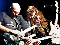 Joe Satriani, Steve Vai and Yngwie Malmsteen