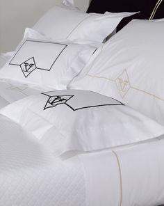 FRETTE bed linen design from Elite yacht  linen