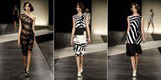 Alexandre Herchcovitch buscou inspirações no passado, baseando sua coleção nas roupas do verão de 1998 e 1999 de uma linha de sua própria autoria.