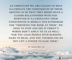 Fr. Daniel Ray, LC Legionaries Of Christ, Christ Quotes, The Kingdom Of God, Christianity, How To Apply, Wisdom, Relationship, Teaching, Words