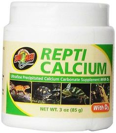 Zoo Med Calcium With Vitamin D3 Reptile Food, 3 Ounce, Free Shipping