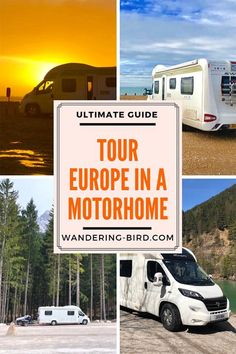 Wondering How to tour Europe in a Motorhome but unsure how? This ULTIMATE Guide has everything you need to know to travel Europe by camper. Road Trip Map, Road Trip Europe, Road Trip Hacks, Europe Europe, Camping Hacks, Travel Around Europe, Europe Travel Tips, Travel Info, Motor Home Camping