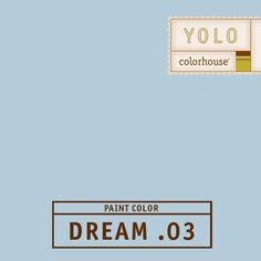 YOLO Colorhouse DREAM .03:  Periwinkle, a bouquet of corn flowers.  Comfortable in its sophistication.  Use in bedrooms, bathrooms, and formal dining rooms. $35.95