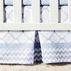 Trend Lab 3pc Crib Bedding Set – Blue Sky