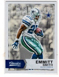 ca412fc6 Sports Cards Football – 2016 Panini Classics Legend Emmitt Smith – Free  Shipping