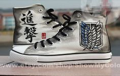 Attack on Titan Converse. I love the Survey Corps patch on the side.
