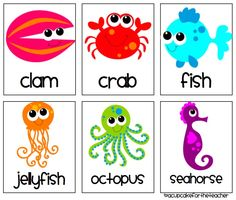 ocean printables free | ... the Teacher: Under the Sea {Craftivities & Printables} and a Freebie Sea Animal Crafts, Seahorse Crafts, Animal Crafts For Kids, Ocean Crafts, Animals For Kids, Fish Crafts, Under The Sea Crafts, Under The Sea Theme, Under The Sea Party