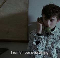 Remember Me Quotes, 54 Movie, Julian Morris, Best Movie Quotes, New Mode, Timmy T, Better Day, Peaky Blinders, Your Name