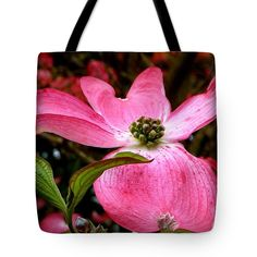 Flowering Plants Tote Bag featuring the photograph Dogwood Shows Pink by Susan Garren