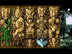 As part of the Think Maori gallery, the Poupou animations are representative of the Poupou found on the interior and exterior walls of a Wharenui (Maori meet. Maori Patterns, Art Series, Interior And Exterior, Carving, Pendants, Animation, Gallery, Artist, Artwork