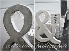 creativeLIVE: DIY (Beton-) Buchstaben aus Styropor