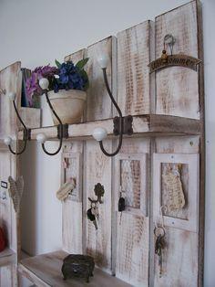 Garderoben - *Produkt des Monats * Universal-Shabby-Garderobe* - ein Designerstück von atelier-nr13 bei DaWanda