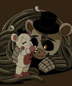 Read from the story → Imágenes de FNAF ← by Ghost-smile (‹ ❪☕❫ ॢ₎) with reads. Five Nights At Freddy's, Animatronic Fnaf, Foxy And Mangle, Fnaf Wallpapers, Fnaf Sister Location, Rpg Horror Games, Fnaf Characters, Freddy Fazbear, Fnaf Drawings